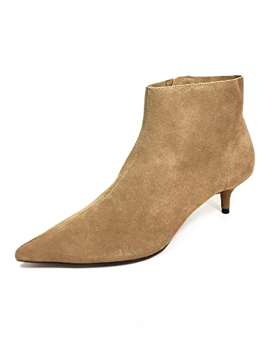 bdf64f65c48 Amazon.com  Zara Women Split Suede Kitten Heel Ankle Boots 3116 001 ...