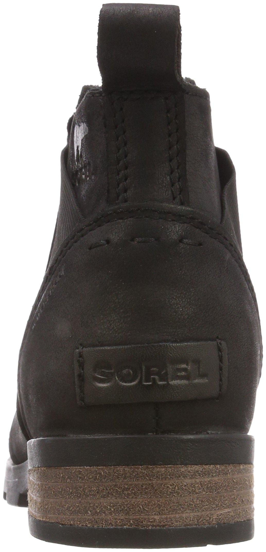 Sorel Womens Emelie Chelsea Black Boot - 8 by SOREL (Image #2)