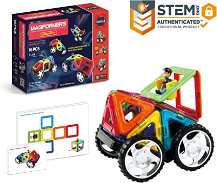 198 pcs Magical Magnet Toy Magnetic Construction Set Similar Magformers Toy