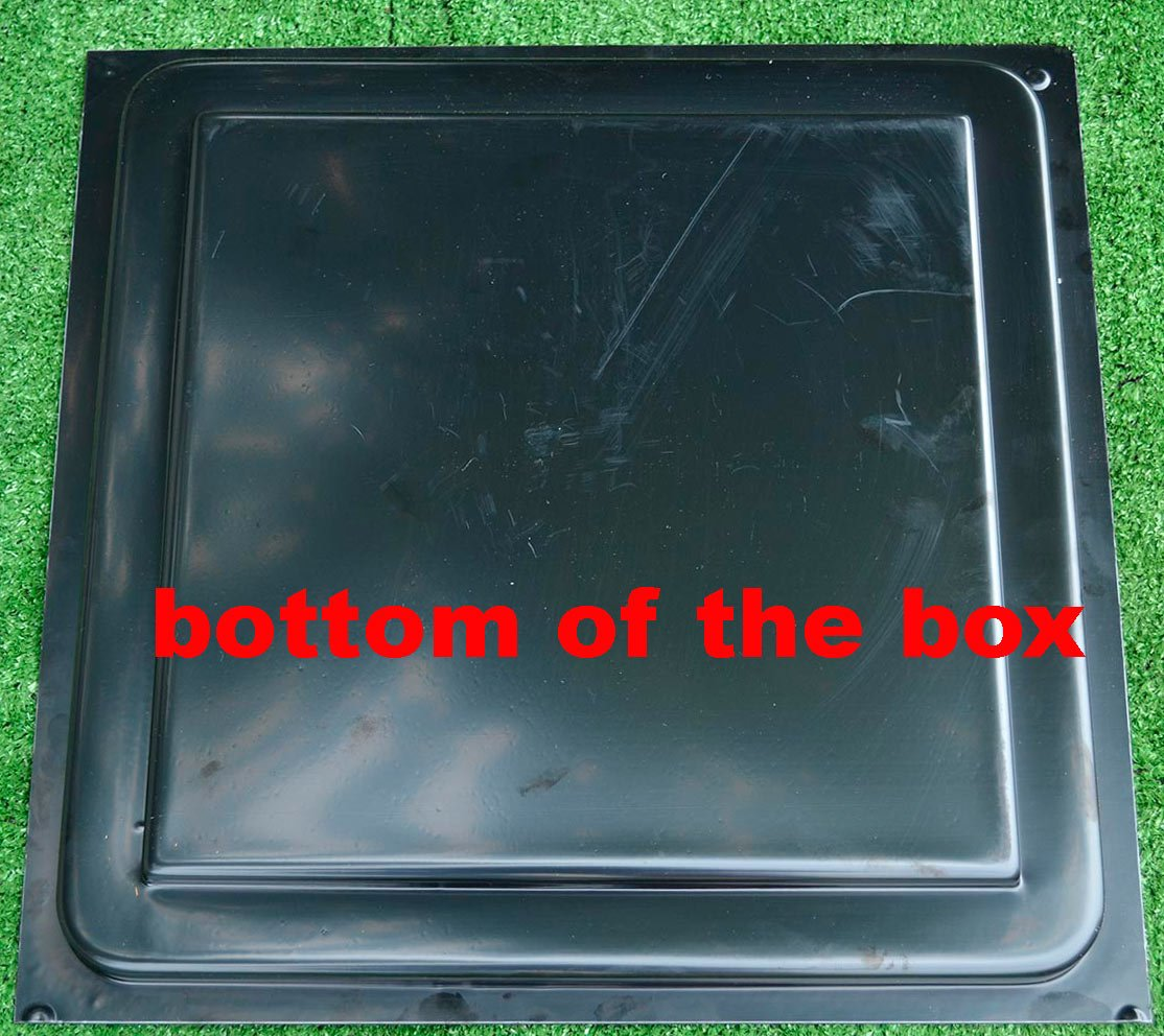 Sold Mold for Concrete Decor box Garden Protection flower beds Planter #F09 (bottom of the box) by Betonex