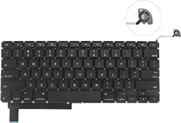 "NEW US Keyboard for Apple MacBook Pro A1286 15/"" Unibody 2008"