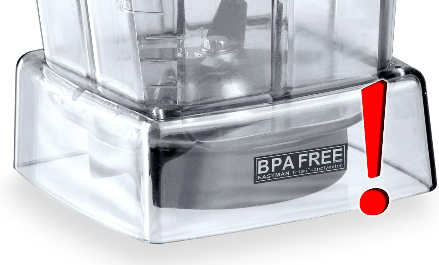 2 litros. Sin BPA Depósito de repuesto para el profesional ...