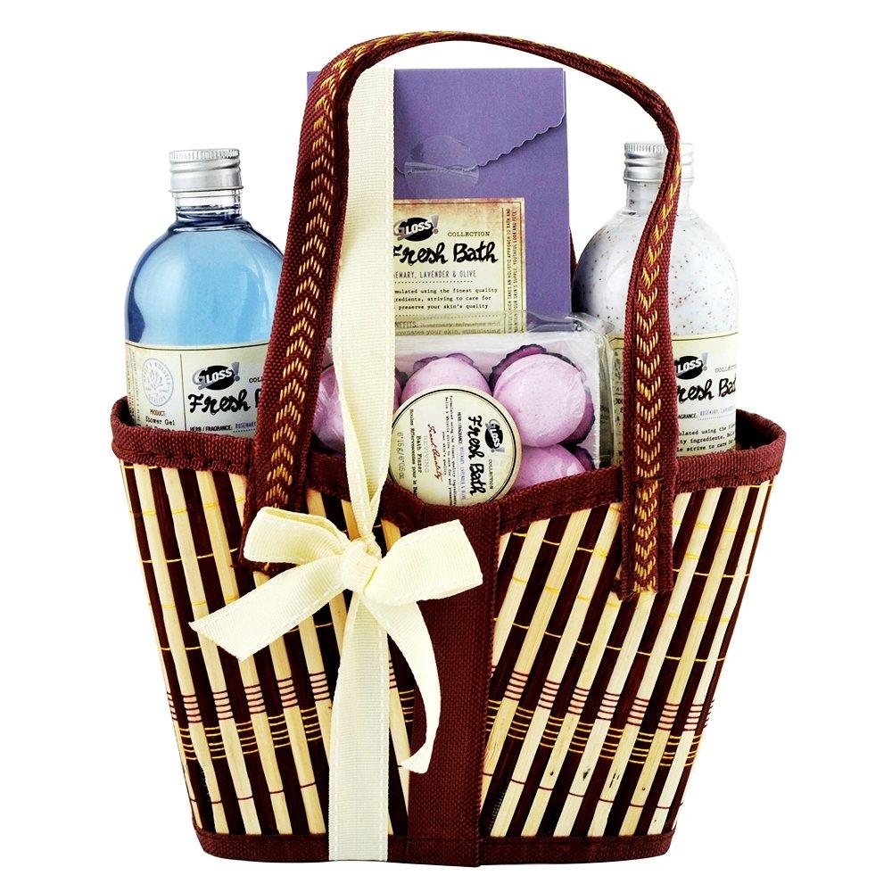 Gloss! Fresh - Estuche de baño regalo, rosamary, lavender & olive Universal Beauty Market FR17819 FR17819 (AmazonIt/UNN6S)