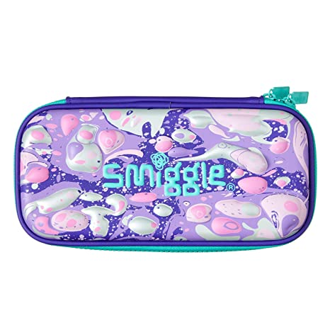 outlet store 129fe 45ae0 Amazon.com : Smiggle Hippy Small Hardtop Pencil Case (Purple ...