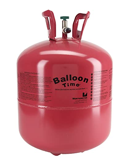 WORTHINGTON CYLINDER CORP 347138 14 9 cu  Ft  Disposable Helium Tank
