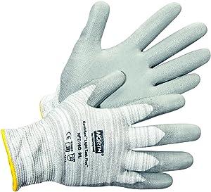 Honeywell Northflex Light Task Plus III Gray PU-Coated Dyneema Cut-Resistant Gloves, Large (RWS-57043)