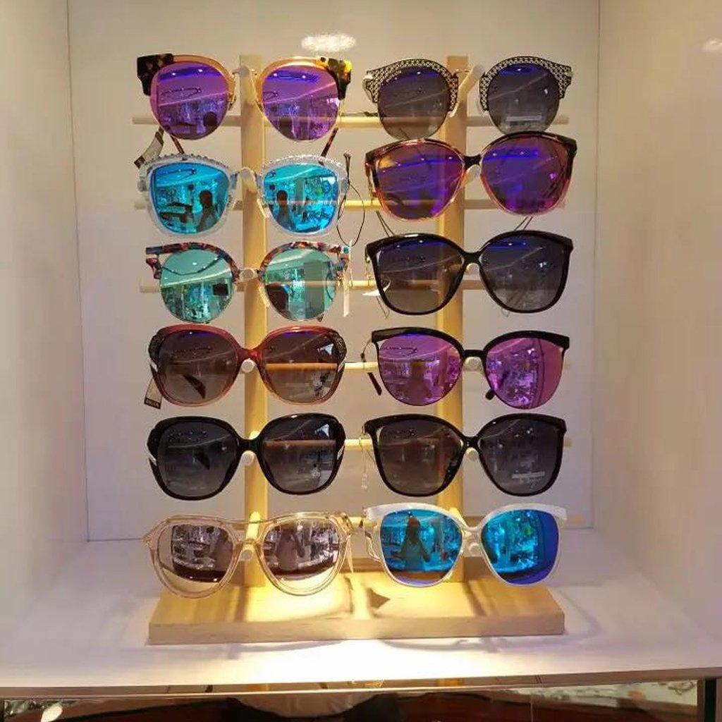Abeillo Pratique amovible 5 couches lunettes Lunettes de soleil Présentoir Stand Rack glassd Outil de support yGkmC