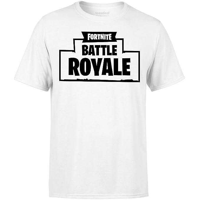FORTNITE - Camiseta - para Hombre Blanco XL: Amazon.es: Ropa y accesorios