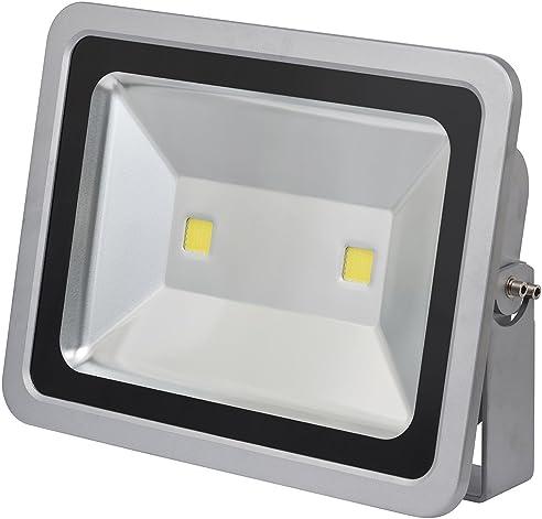 Brennenstuhl Chip LED Leuchte / LED Strahler Außen (robuster Außenstrahler  100 Watt,