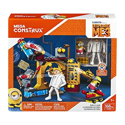 'Limited' Mega Construx 'Dru's Lair' Despicable Me 3 Building Set: Toys & Games