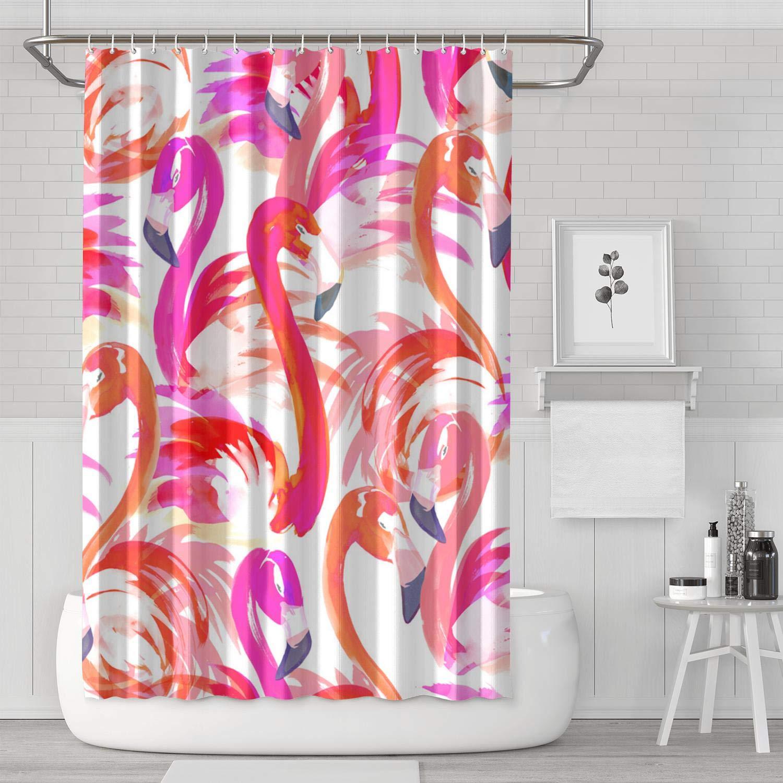 Amazon Com Lhscvufasc Pink Flamingo Wallpaper 72 W X 72 H