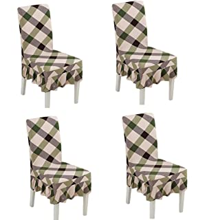 Astonishing Amazon Com Black Temptation Plaid Stylish Dining Chair Gmtry Best Dining Table And Chair Ideas Images Gmtryco