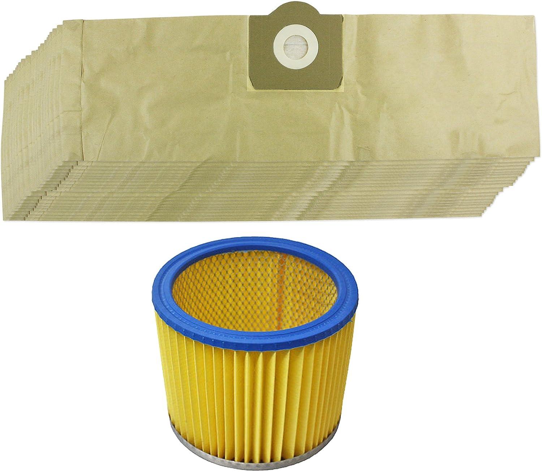 Spares2go Kit de bolsas de polvo y filtro para aspiradora Parkside ...