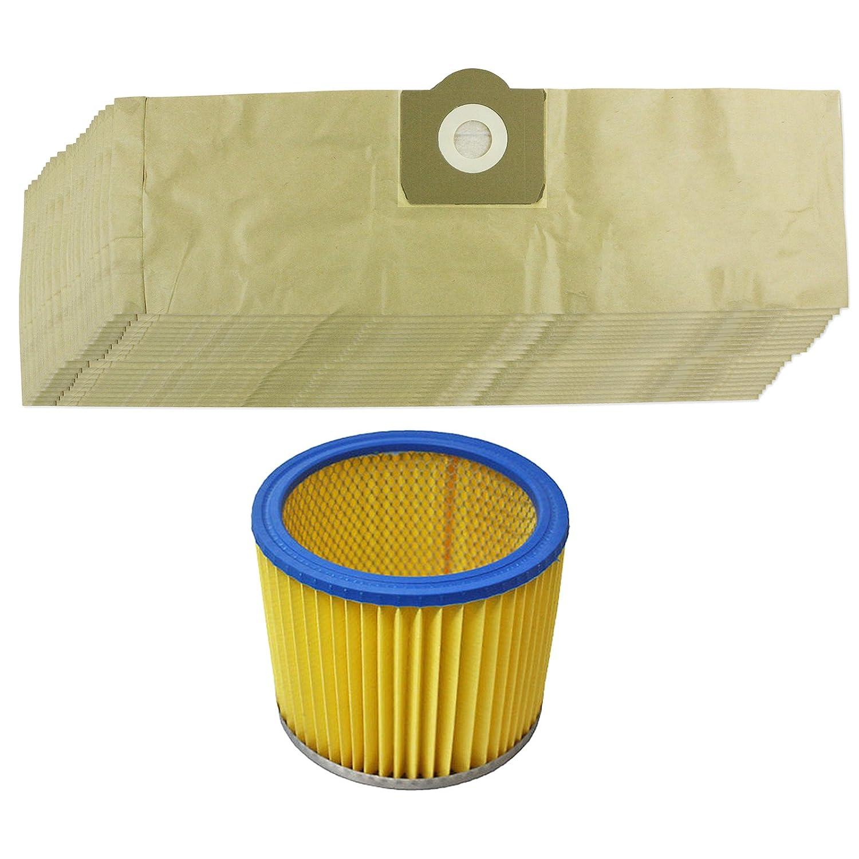 Spares2go Kit de bolsas de polvo y filtro para aspiradora ...
