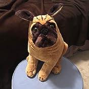Amazon.com: Melissa & Doug Pug Dog - Lifelike Stuffed