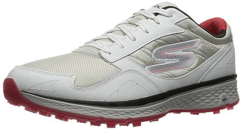 Skechers Performance Men s Go Golf Fairway Golf Shoe WhiteBlueRed 10 D(M) US