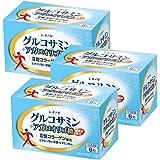 グルコサミン+アガロオリゴ糖<6粒×30包入り(1日の目安:6粒)>×3箱セット