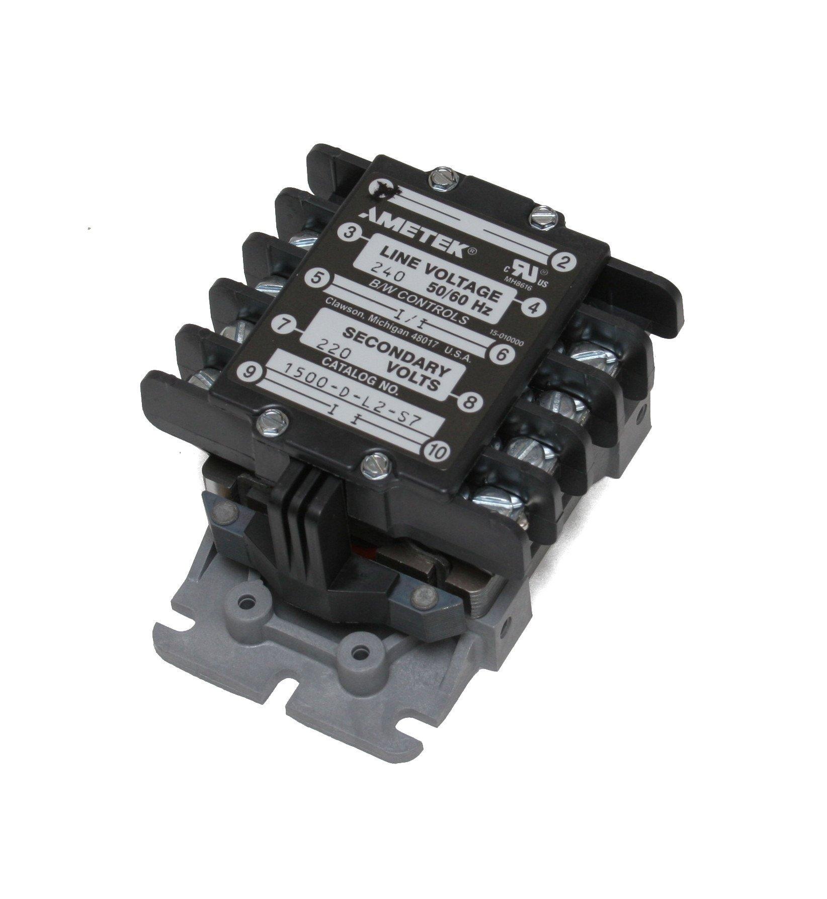 Ametek B/W Controls Liquid Level Control Cat: 1500-D-L2-S7