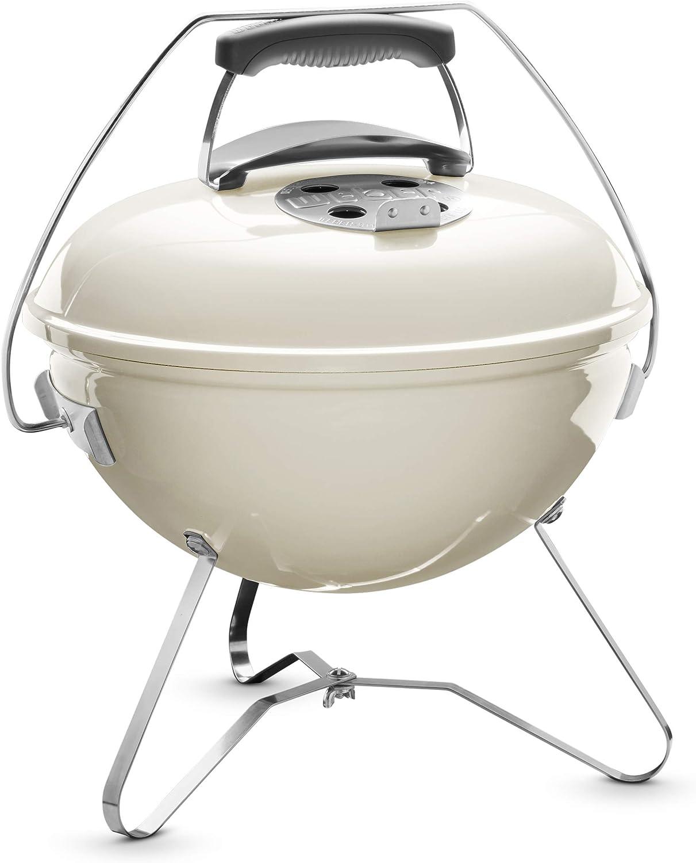 Weber Compact 1125004 Smokey Joe Premium Barbecue 37 cm, Ivory