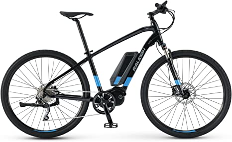 Raleigh Ruta IE tamaño Mediano Negro/Azul eléctrico para Bicicleta ...