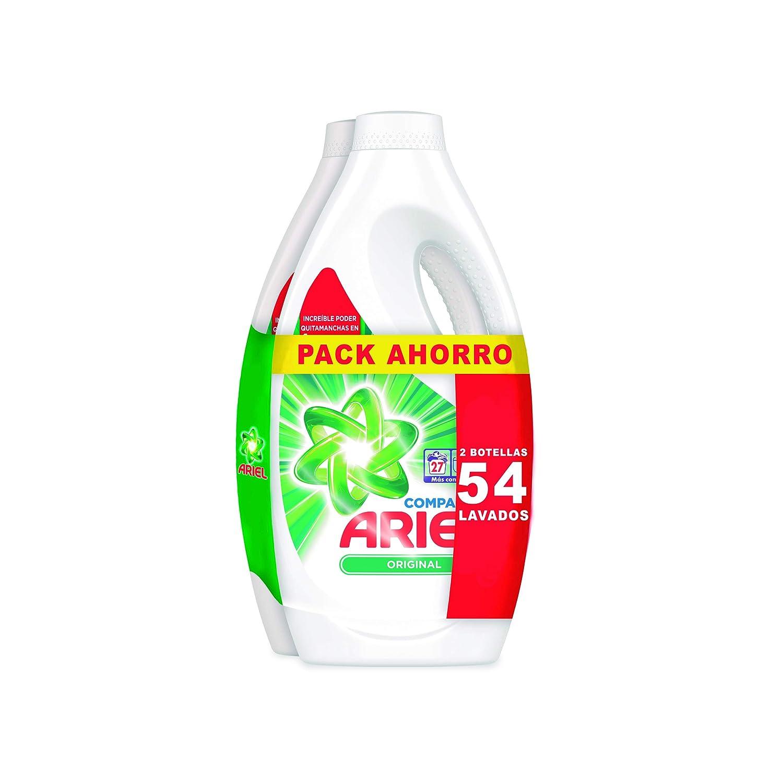 Ariel Detergente Liquido Original 27 Lavados: Amazon.es: Salud y ...