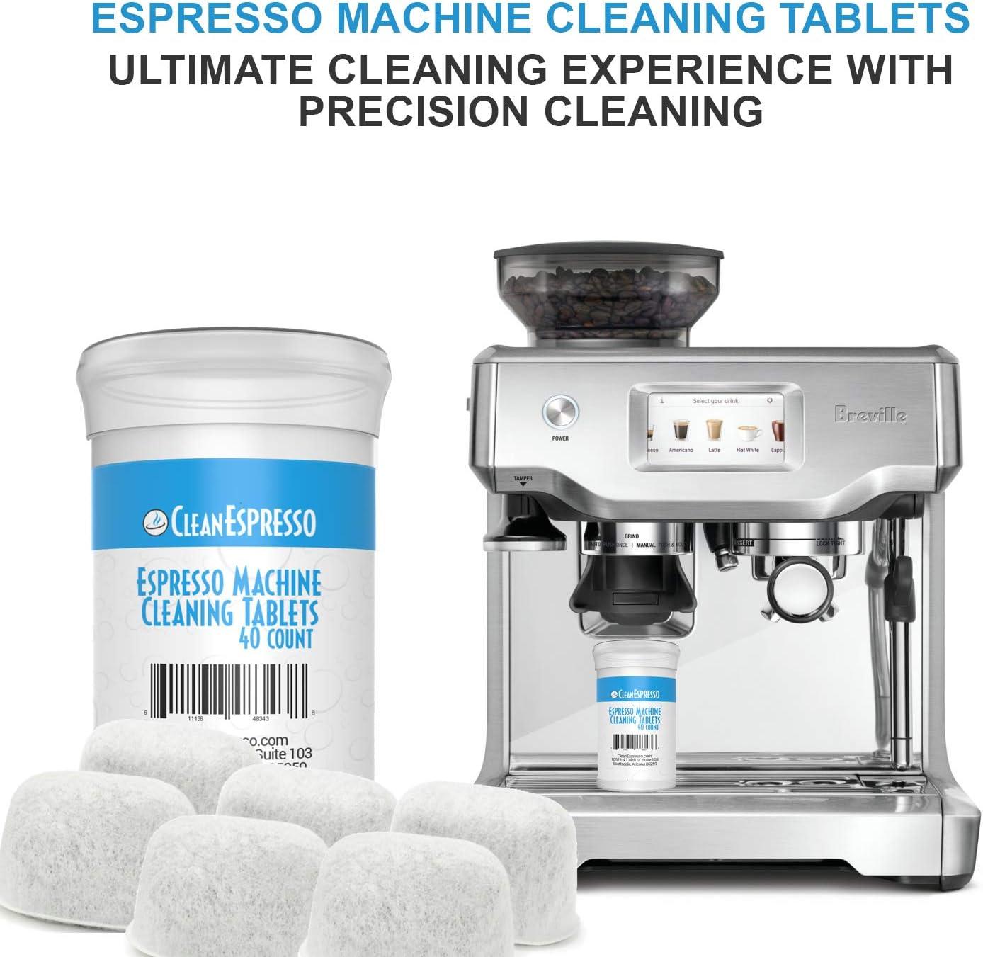 Breville BRF-020 - Pastillas de limpieza para máquina de café expreso y filtro adicional: Amazon.es: Hogar