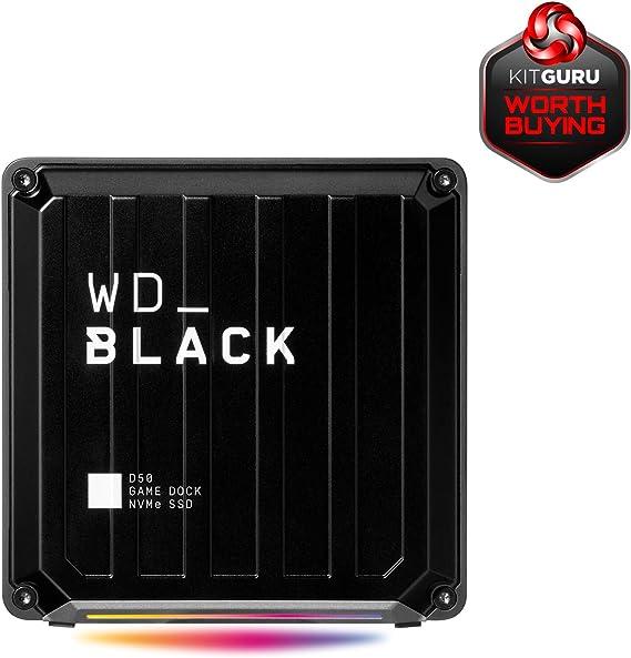 Wd Black D50 Game Dock 2 Tb Schwarz Computer Zubehör