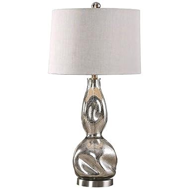 Uttermost Dovera Mercury Glass Table Lamp