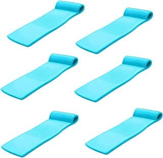 product image for TRC Recreation Sunsation 70 Inch Foam Raft Lounger Pool Float, Teal (6 Pack)