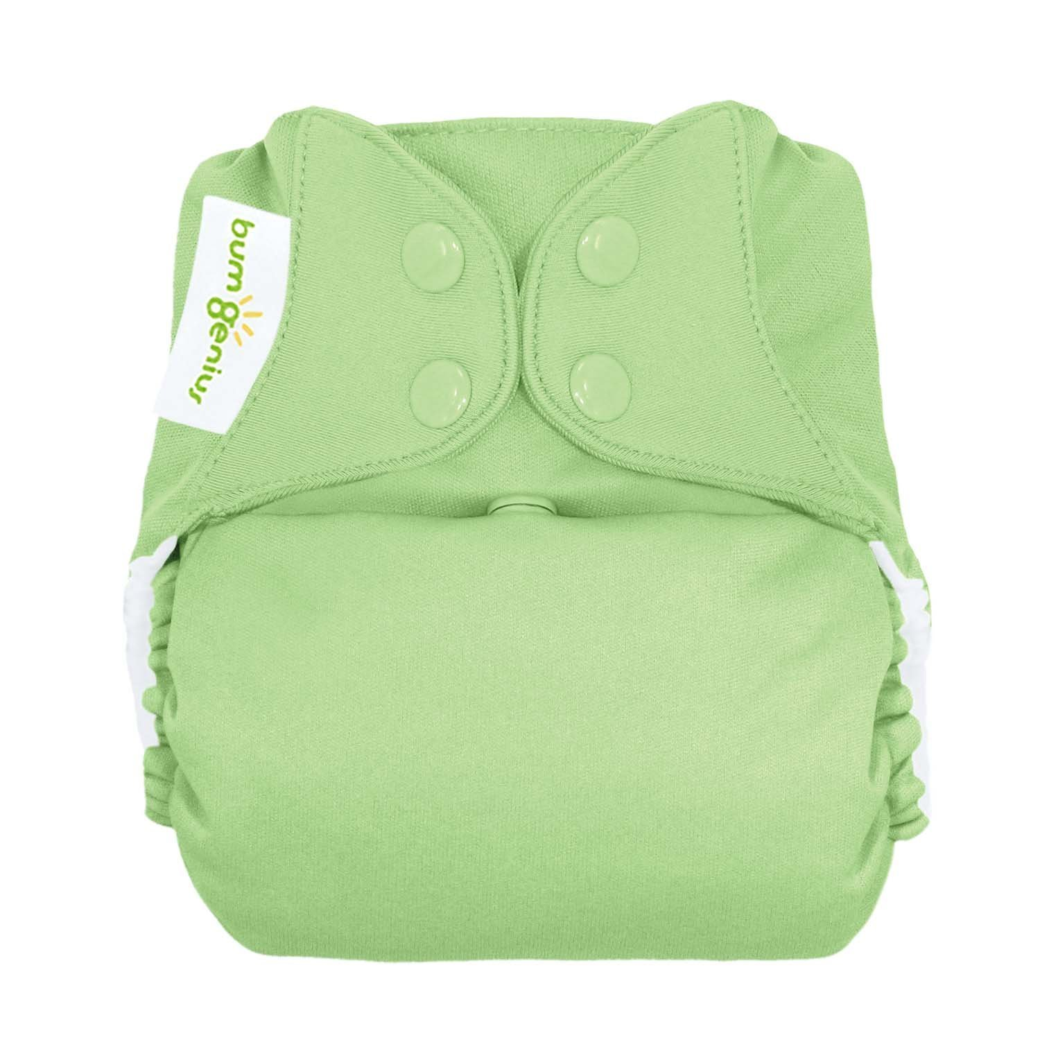 Bumgenius Freetime Cloth Diapers 6 Pack Mixed Colors Snaps