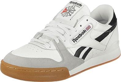 ac9ef7dc13972 Reebok Men s Phase 1 Pro Mu Gum-White Black Snowy Gry Tennis Shoes ...