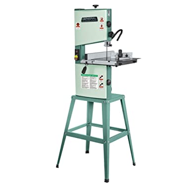 General International 90-030 M1 Wood-Cutting Band Saw, 10 , 1/3 Hp Motor, Green