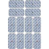 12 axion elektroden / pads 10x5 cm – geschikt voor EMS- en TENS-apparaten van Sanitas & Beurer