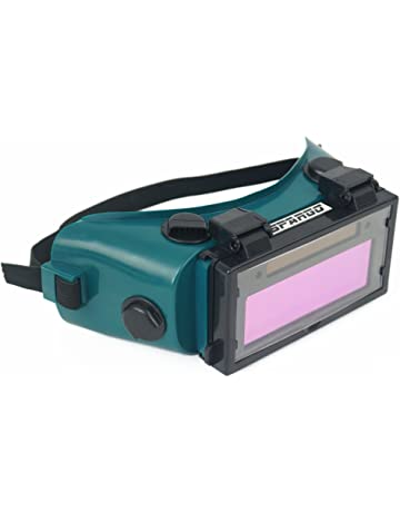 Oscurecedor Gafas de soldadura Casco Auto Spargo Máscara LCD Gafas solares Soldador gas lentes Protección de