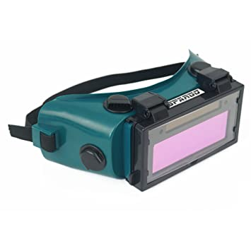 Oscurecedor Gafas de soldadura Casco Auto Spargo Máscara LCD Gafas solares Soldador gas lentes Protección de los ojos: Amazon.es: Bricolaje y herramientas