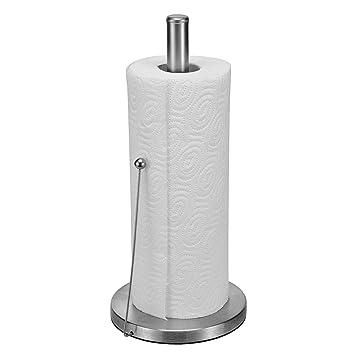 Halter für küchenrolle  Küchenrollenhalter Edelstahl Küchenrolle Halter Küchenpapierhalter ...