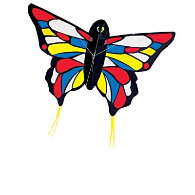Melissa & Doug Beautiful Butterfly Single Line Shaped Kite (50-Inch Wingspan): Toys & Games