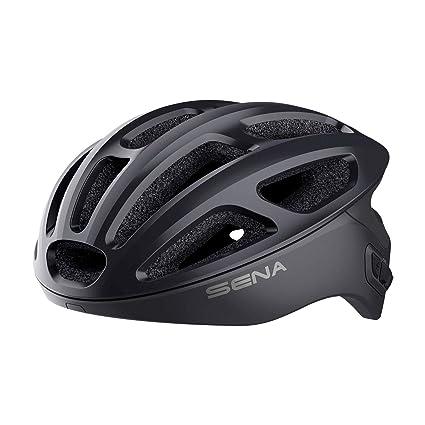 Sena R1 Smart Cycling Helmet (Onyx Black, Medium)