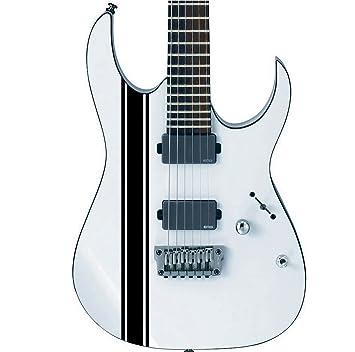 Designdivil Wall Art Paquete de Pegatinas Personalizadas para Guitarra o bajo, diseño de Rayas de Carreras, se Adapta a Todos los Guitarras: Amazon.es: ...