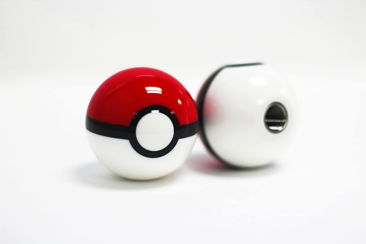 Kei Project Pokemon Pokeball Round Shift Knob Available in 8x1.25 10x1.25 10x1.50 12x1.25 (10x1.25) PB-25