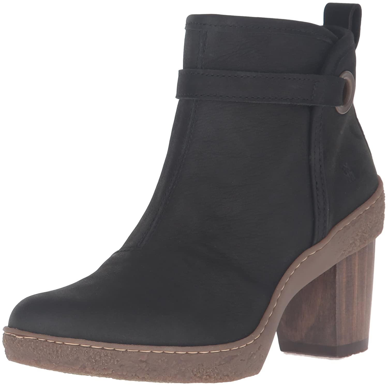 El Naturalista Women's Nf71 Lichen Ankle Bootie B01BHL61U8 40 M EU / 9 B(M) US|Black
