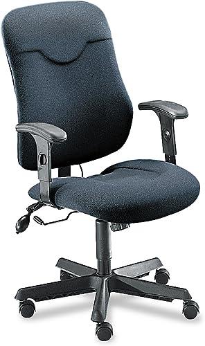 Mayline Comfort Series Executive Posture Chair Gray Fabric