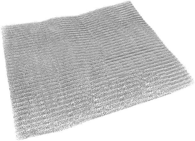 Spares2go - Filtro de malla universal de aluminio cortado a medida para todas las marcas de campana extractora/ventilador de ventilación (57 x.: Amazon.es: Grandes electrodomésticos