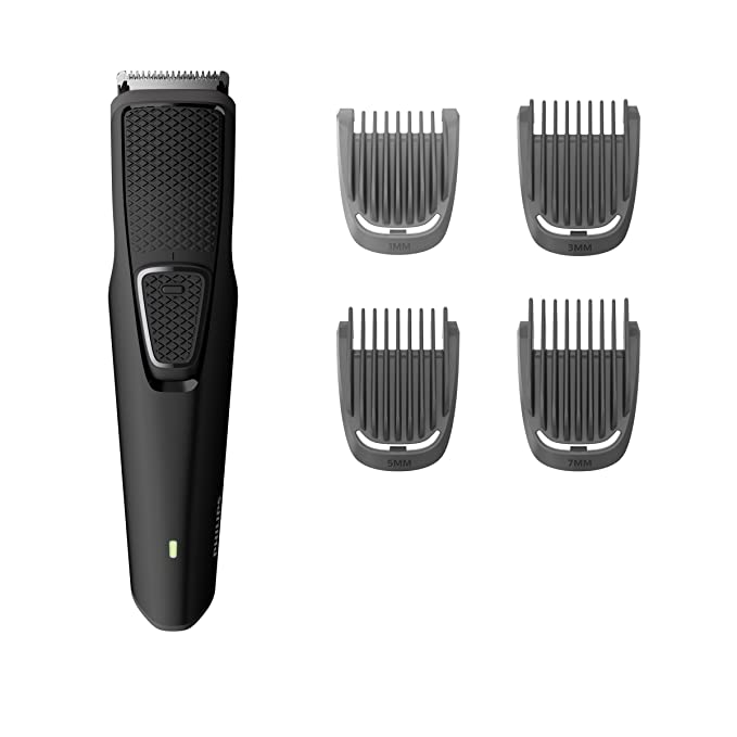 Philips BT1215/15 USB Cordless Beard Trimmer  Black  Beard Trimmers