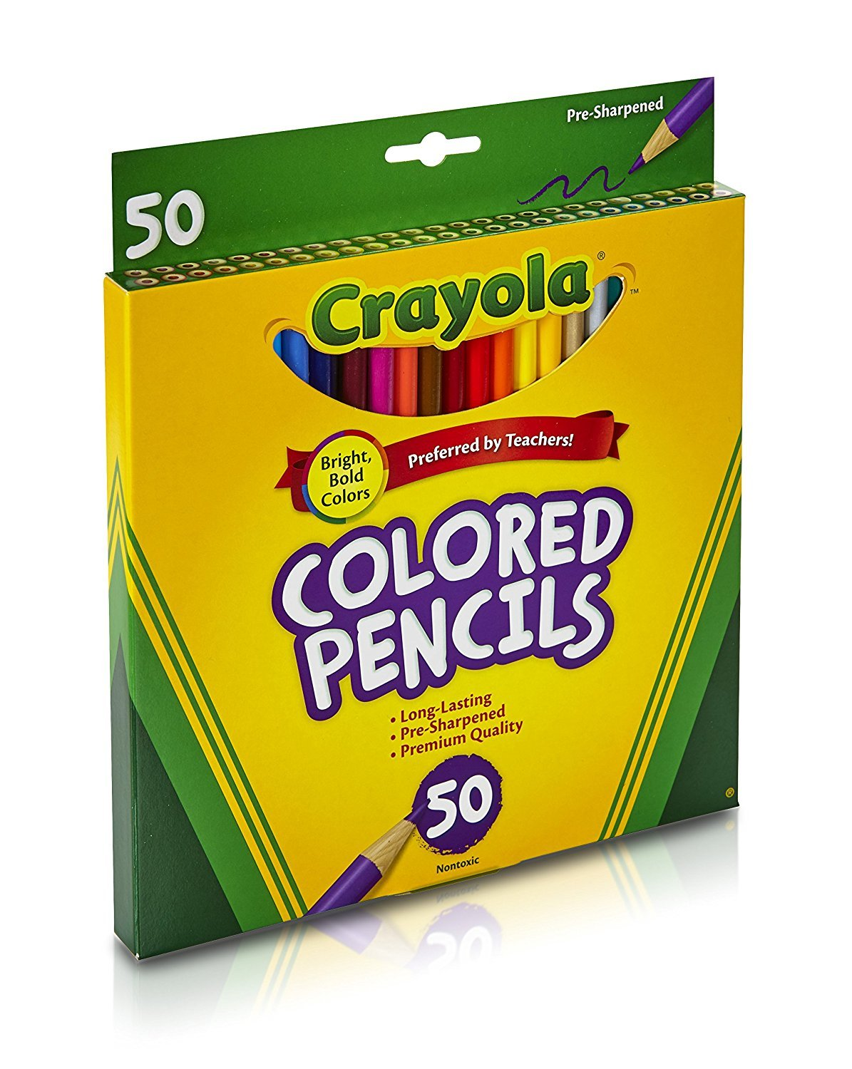 Gift Crayola 100Count Colored Pencils with 16Count Color Fx Metallic /& Neon Exclusive Great For Coloring Books