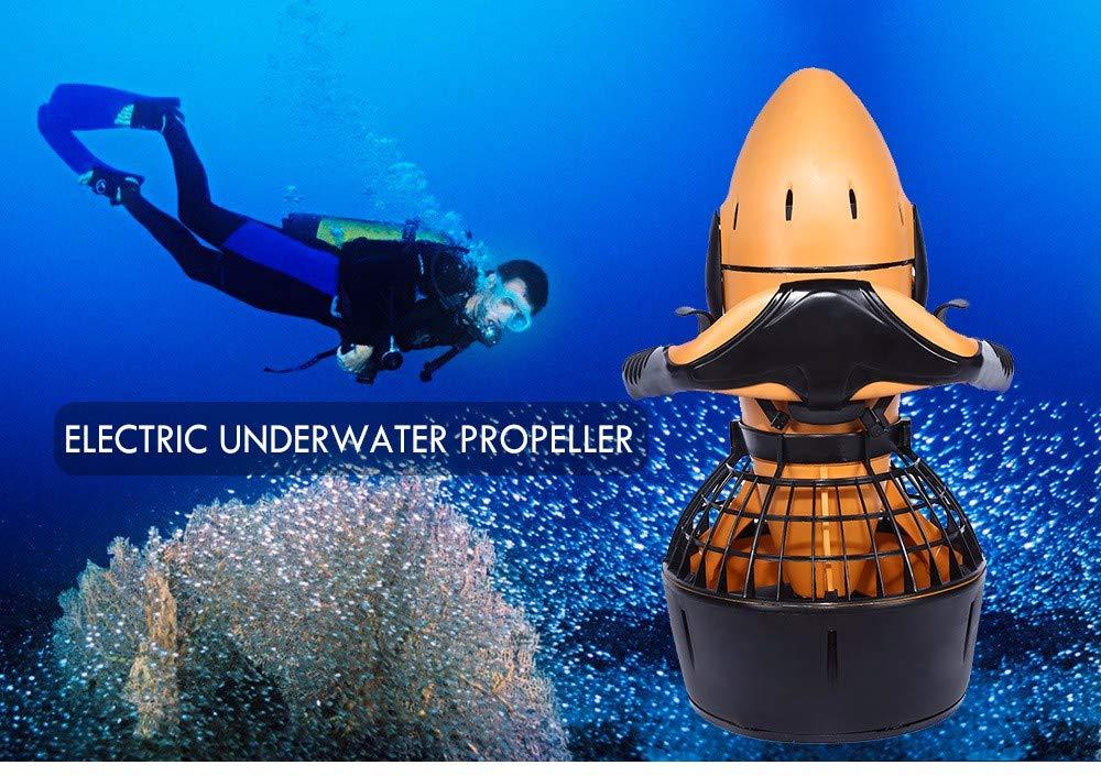 Diving Sea Scooter 300W Waterproof Pro Waterproof Dual Speed SafetyProp//6kmh USA