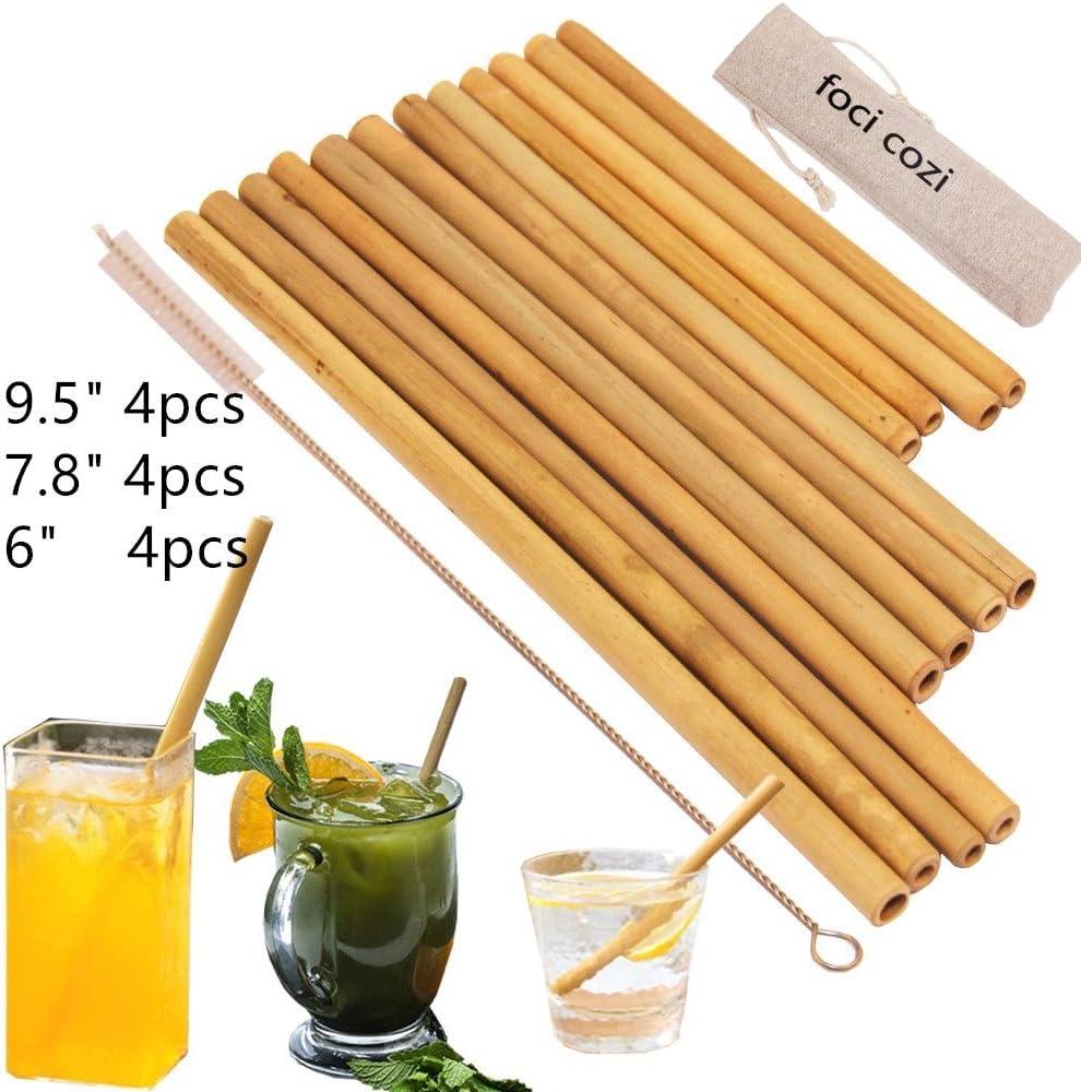 Foci Cozi Bamboo Eco Friendly Straws