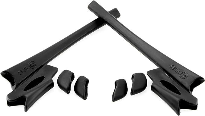 Sunglasses For Men Kit Black Flak Jacket One Size Nosepad Earsock Stem Sleeves