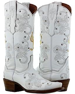 Amazon.com   Cowboy Professional - Women\'s I Do White Western ...