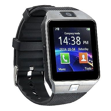 DZ09 Reloj Inteligente Bluetooth Reloj teléfono móvil Sistema de Apoyo Android Apple, Android Smart teléfono